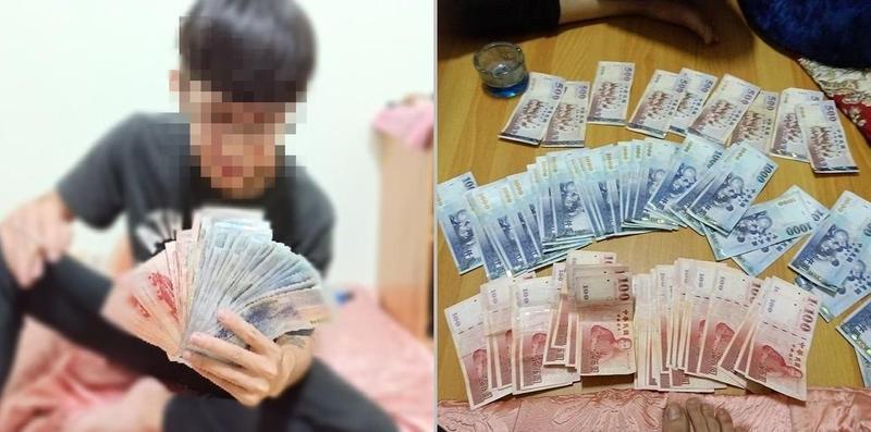 嫌犯將偷來的3C產片變賣現金後,還在IG貼出照片炫富。(翻攝照片)