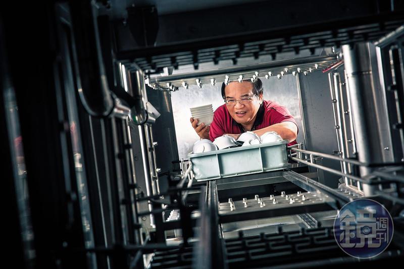 廖品源從專業洗碗機製造廠起家,發展出全新商業模式,讓洗碗變成一門大生意。