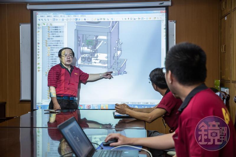 廖品源認為自己能成功是因為做到學以致用,他一直在機械設計這個領域鑽研。