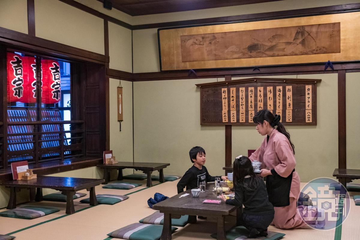 到「吉宗本店」吃一碗茶碗蒸,依舊是本地人喜愛的享受。
