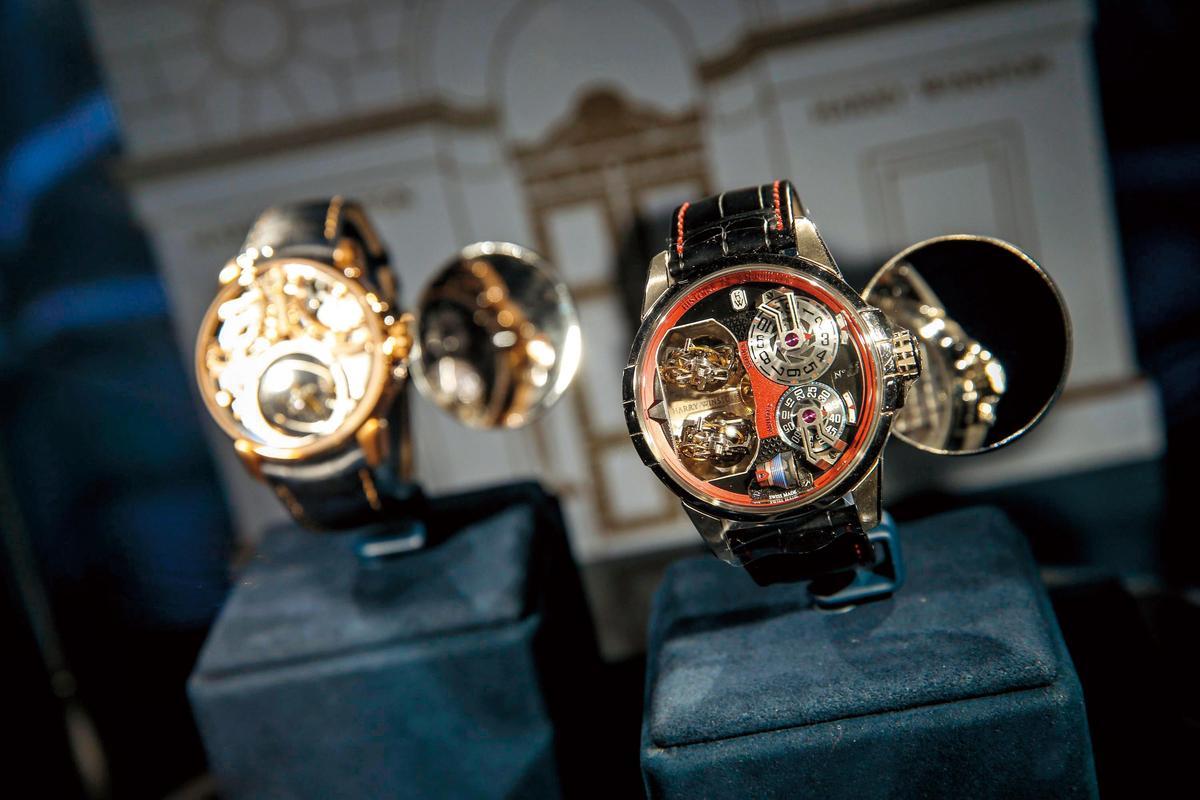 高級珠寶時計與Avenue系列腕錶,設置在 Times Square & Avenue展館,也是展覽的尾聲。