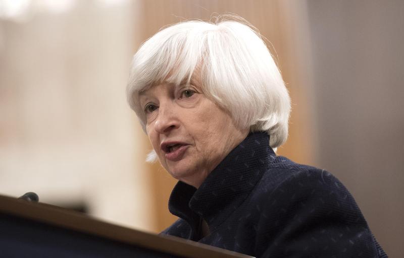 美國前聯準會主席葉倫對貸款浮濫現況發出警告。(東方IC)