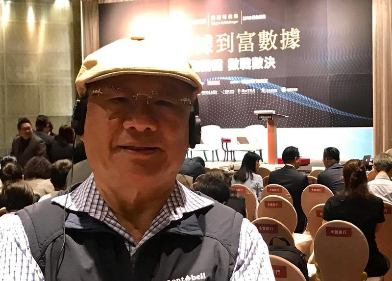 廖清輝為首的市場派將在本週四舉行臨股會,全面改選董監。(翻攝自廖清輝臉書)