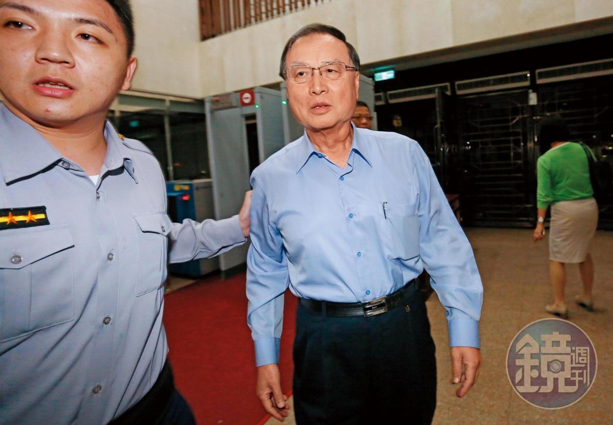 中投前董事長張哲琛(圖)在三中案緊咬馬英九,向檢方強調交易過程均對當時的黨主席馬英九報告。
