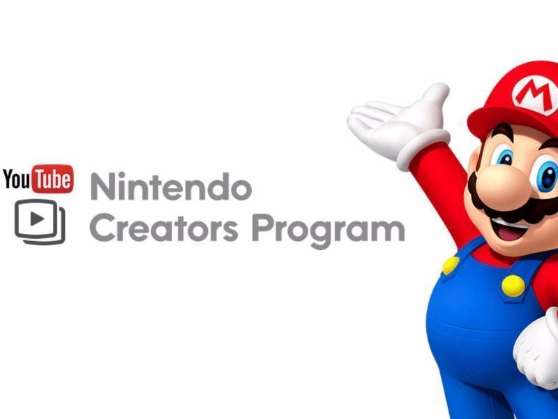 2015 年開始的任天堂創作者計畫,創作者有諸多詬病,後來甚至禁止直播。任天堂宣布這項計畫將在 2018 年年底停止。(圖/任天堂官網)