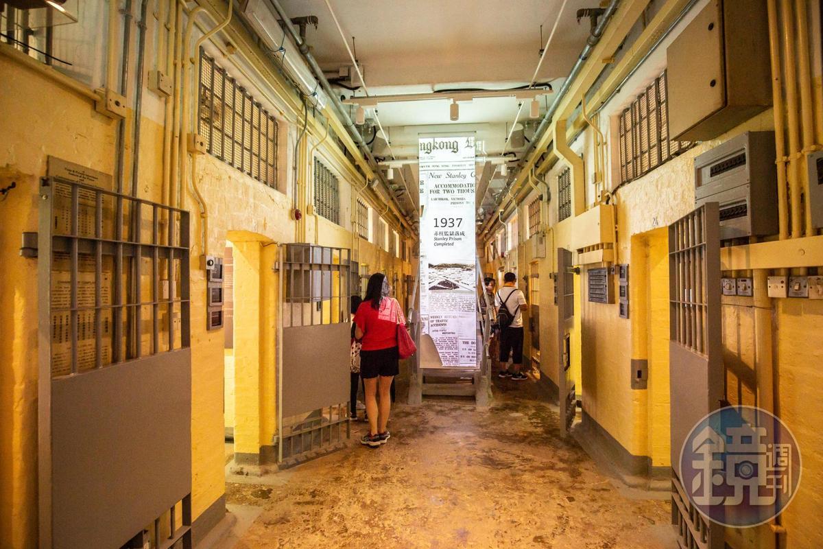監獄B倉讓人感受當年囚犯的牢獄生活。