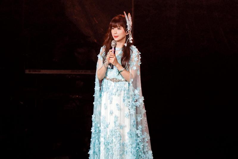 孟庭葦被被封為「月亮公主」,不少經典歌曲都跟天氣氣候有關成為招牌。(豐華提供)