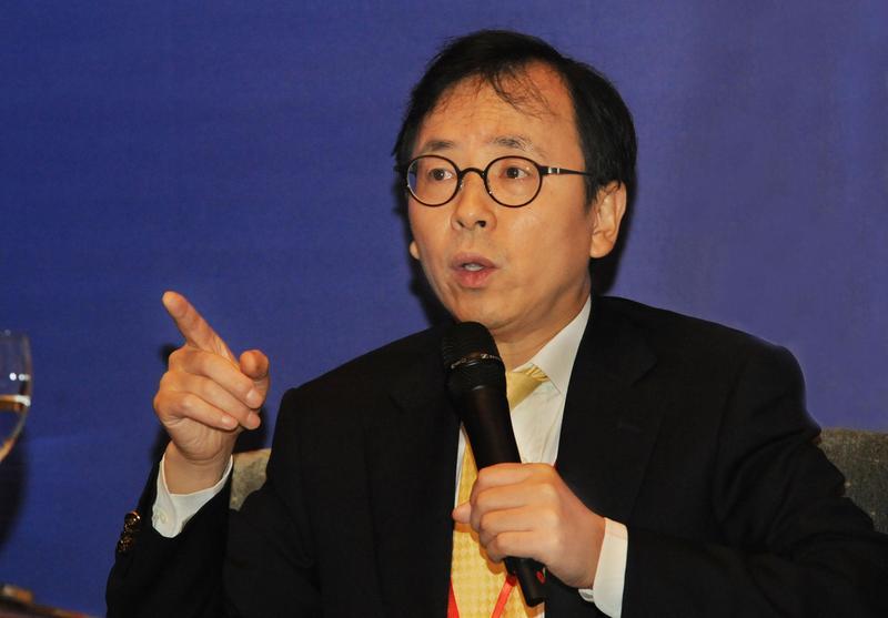 經濟學家謝國忠認為,中美貿易戰對抗的本質沒有改變。(東方IC)