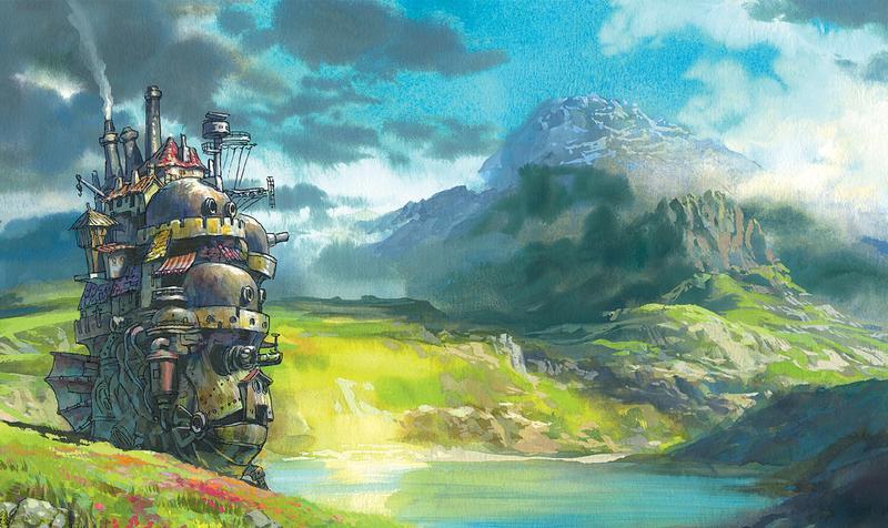 《霍爾的移動城堡》是宮崎駿在2004年的動畫,改編英國奇幻文學。18歲的少女被詛咒變成老婆婆,無意間搬入霍爾的移動城堡,最後解開了霍爾跟自己身上的詛咒。(東方IC)