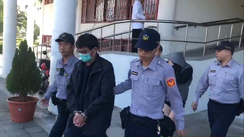 警方將涉嫌「運屍」的兩人依過失致死、毒品罪嫌移送台北地檢署複訊。(警方提供)