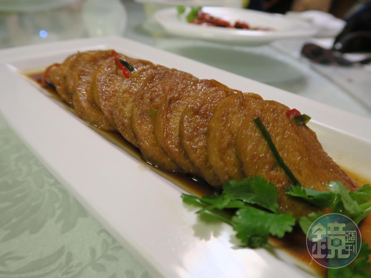 滋味道地的上海麵筋。