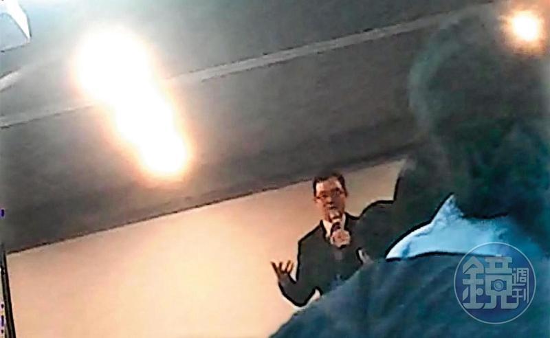 富南斯國際投資每週舉辦投資說明會,林老師是重要的講師之一。(讀者提供)