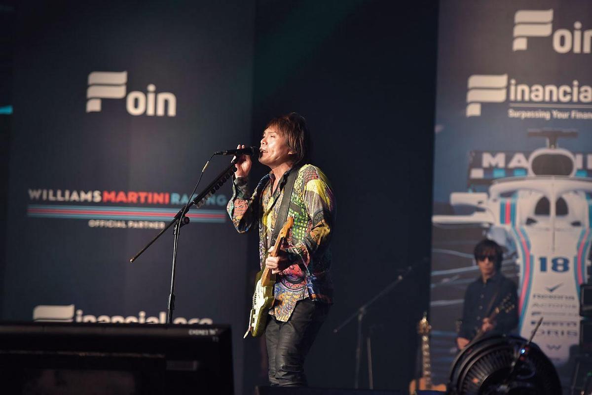 伍佰是Financial.org邀請演唱的大咖歌手之一。(翻攝自Financial.org網站)