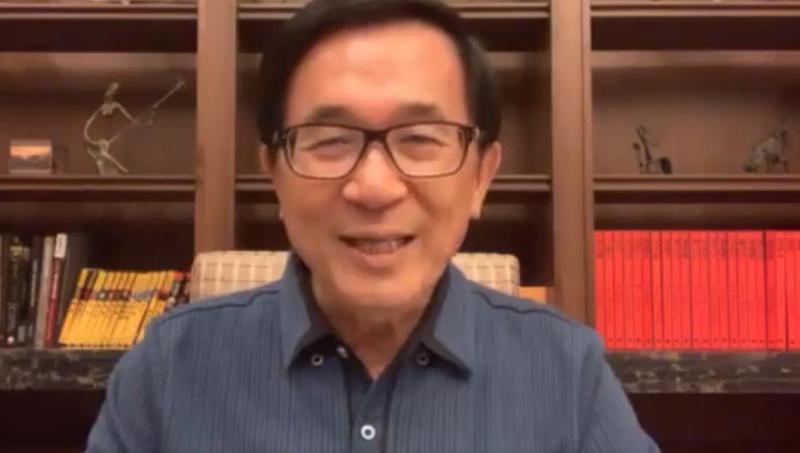 前總統陳水扁曾表示如果韓國瑜當選就離開高雄,近日他表示不打算「北漂」,因為想要享受愛情摩天輪和旗津賭場。(翻攝陳水扁臉書)
