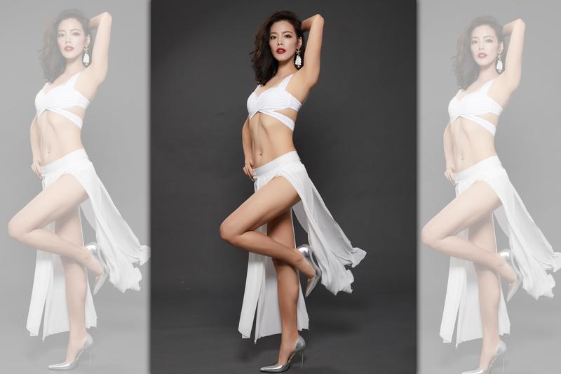 陳翊萱受下近二十公斤,身材非常纖瘦。(RIZAP台灣)