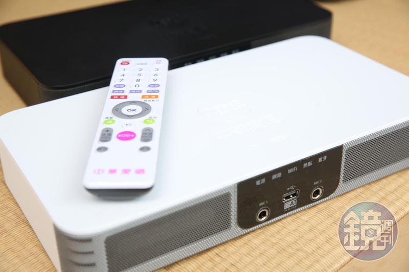 愛唱久久將推出把影像、音響、遙控器甚至到5G功能整合在一起的機上盒。