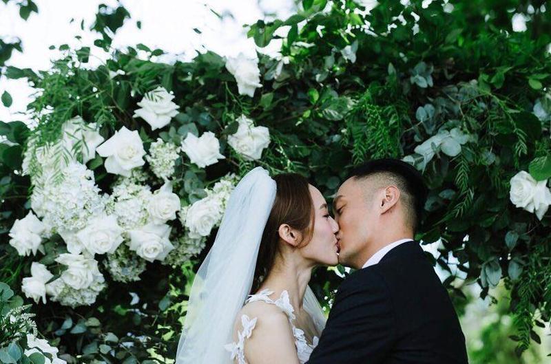 今日是港星余文樂跟皮帶大王千金王棠云結婚一週年,兩人在社群平台上大放閃。(余文樂IG)