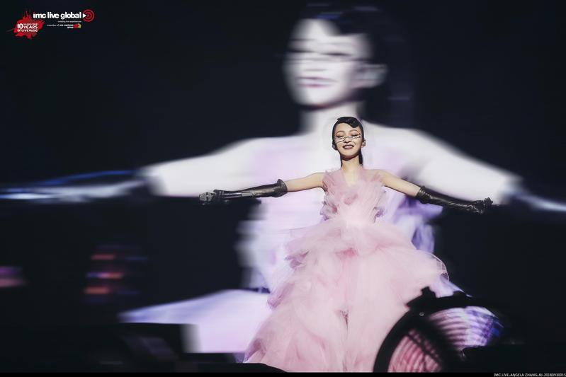 張韶涵將在台北小巨蛋開唱,請到老友信當嘉賓飆鐵肺。(IMC Live Global提供)