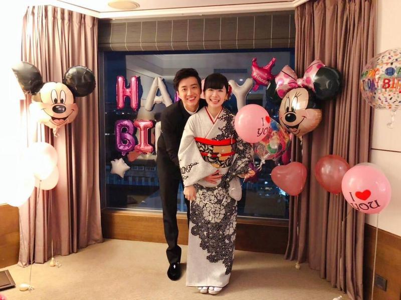 江宏傑透過臉書公開報喜,他和福原愛的第二個寶貝就要報到啦。(翻攝自江宏傑臉書)
