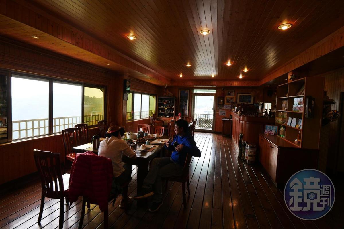生力農場的景觀餐廳,是10多年前為了服務老顧客才有的用餐空間。