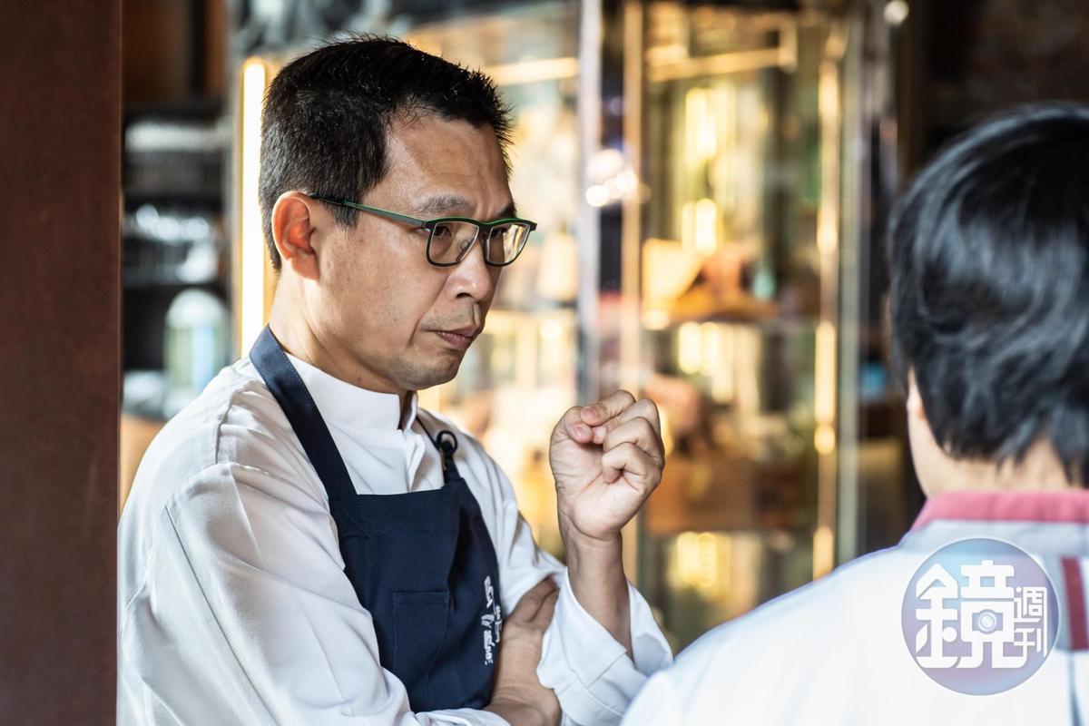 「Thomas Chien Restaurant」主廚簡天才,今年也是以開胃菜負責餐會開場。