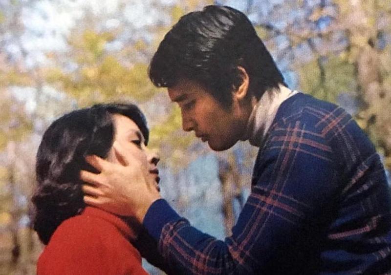 《晴時多雲偶陣雨》由甄珍及秦祥林主演,劇情輕鬆愉悅,連同名主題曲都為之大紅。(歐偉毅先生提供)
