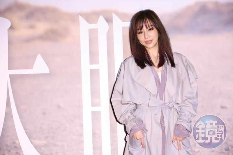王心凌7日出席新歌〈大眠〉MV特映會,不只作品新曲風,MV也演技大爆發。