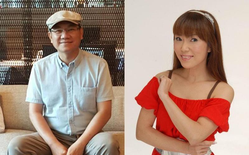 陳立宏(左)腦癌四期在2017年6月逝世,前主播周怡怡(右)在2011年9月因卵巢癌過世。(左圖翻攝自陳立宏臉書,右圖翻攝自周怡怡臉書)