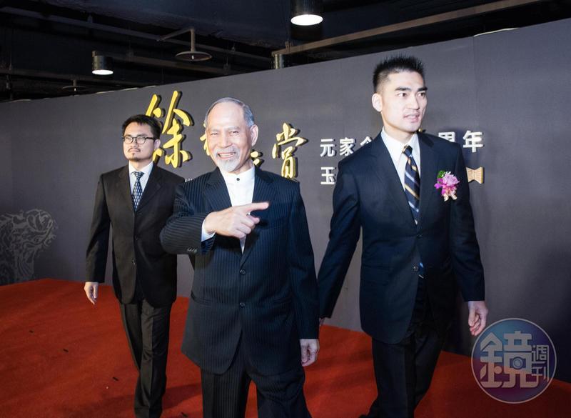 顏元博3年前退居幕後,事業已經交給2個兒子打理。