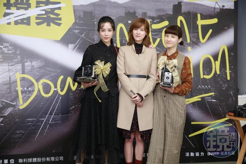 温貞菱(左起)、林予晞及連俞涵三人是個性興趣都很投契的好姊妹。