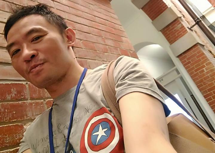 陳俊志跟他的父親、弟弟一樣,死於心肌梗塞。(翻攝自臉書)