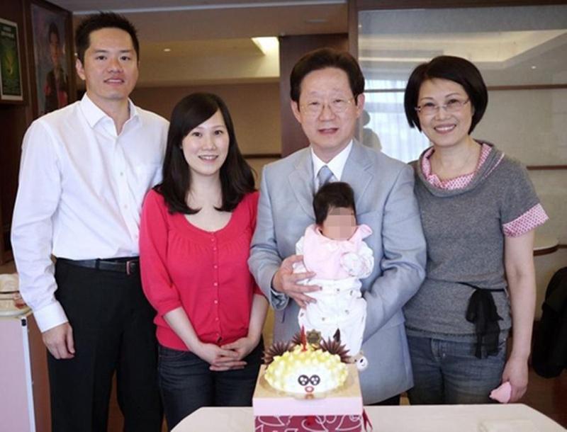 陳田圃的兒子陳建甫娶林文淵的獨生女兒林妍君,林文淵也是陳家資產管理公司南和興產公司的董事。(再生緣生物科技提供)