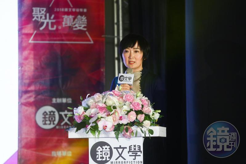 鏡文學總編輯暨總經理董成瑜宣布鏡文學明年將自製及投拍多部電影、電視劇等,朝IP開發、授權、運營產業一條龍。