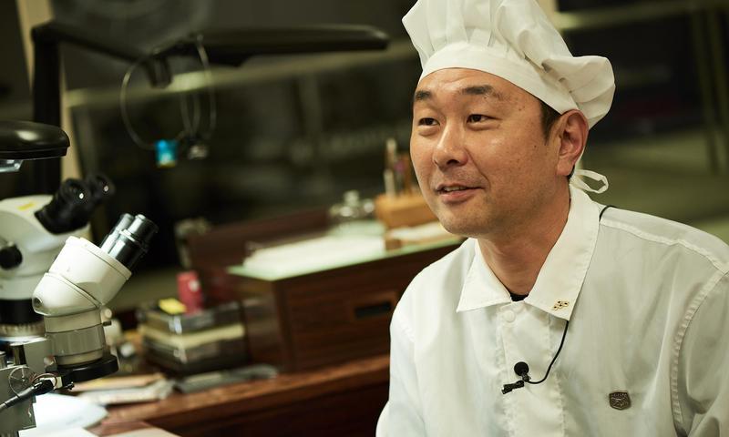 GS首席組裝師伊藤勉,是目前盛岡錶廠內最具代表的中生代職人。