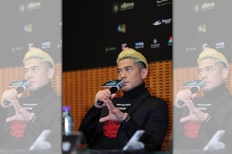 郭富城很喜歡電影《麥路人》劇本,他更認為這是自己近幾年最好的作品!(麥路人臉書)