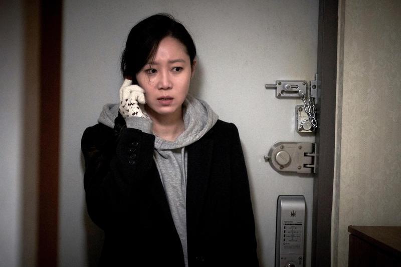 孔曉振挑戰恐怖驚悚片《鎖命危機》,在韓國看過預告片的觀眾,五個人就有一個嚇到不敢看。(采昌國際提供)