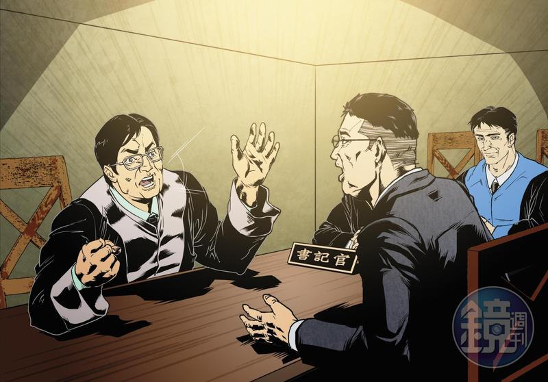 曾經在調解庭中代表馬先生前妻出庭的陳律師,沒想到竟成了前妻的新歡。