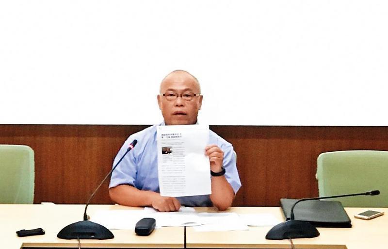 本刊揭露花蓮縣政府與記者接洽的關鍵錄音檔,執行者就是傅崐萁核心幕僚謝公秉。(花蓮縣政府提供)