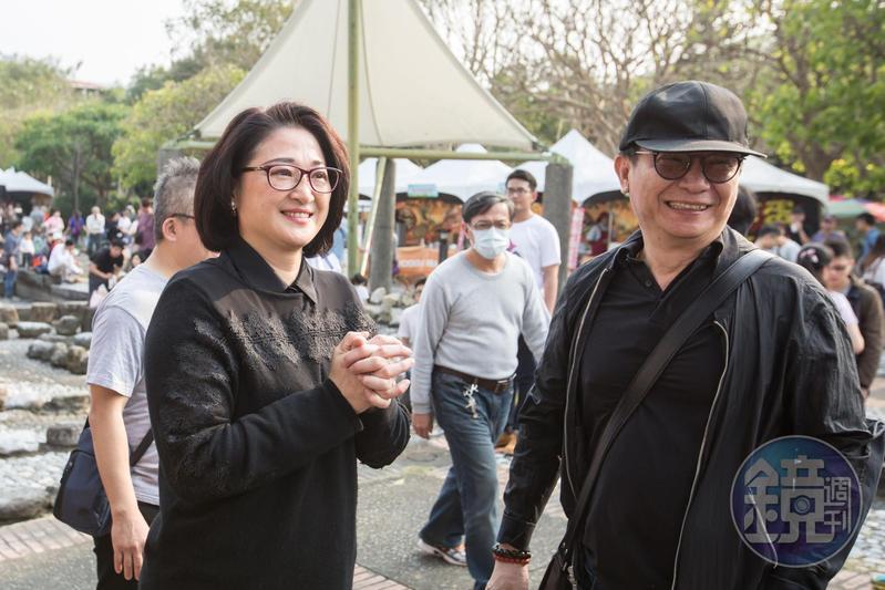 裕隆集團執行長嚴陳莉蓮(左)堅持發展自有品牌,先前安排集團副執行長陳國榮(右)接下納智捷汽車公司董事長職務。
