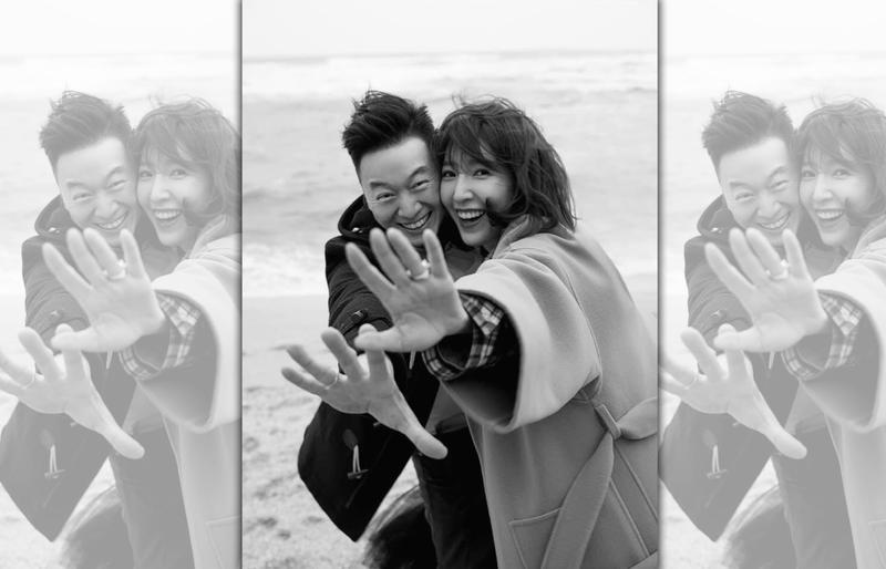 楊謹華今與男友Ben登記結婚。(翻攝自楊謹華臉書)