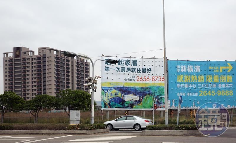 三井OUTLET進駐台中港,建商紛紛看好卡位推案。
