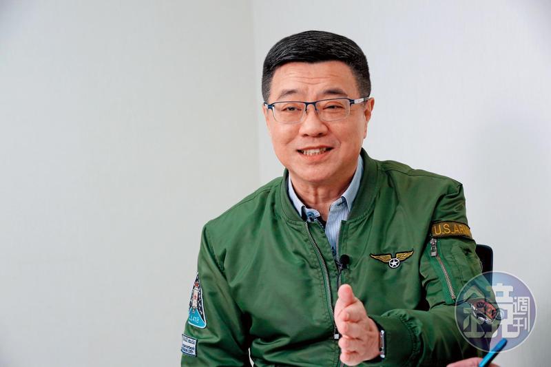 行政院祕書長卓榮泰(圖)參選民進黨主席,週日接受本刊專訪,暢談參選理念。