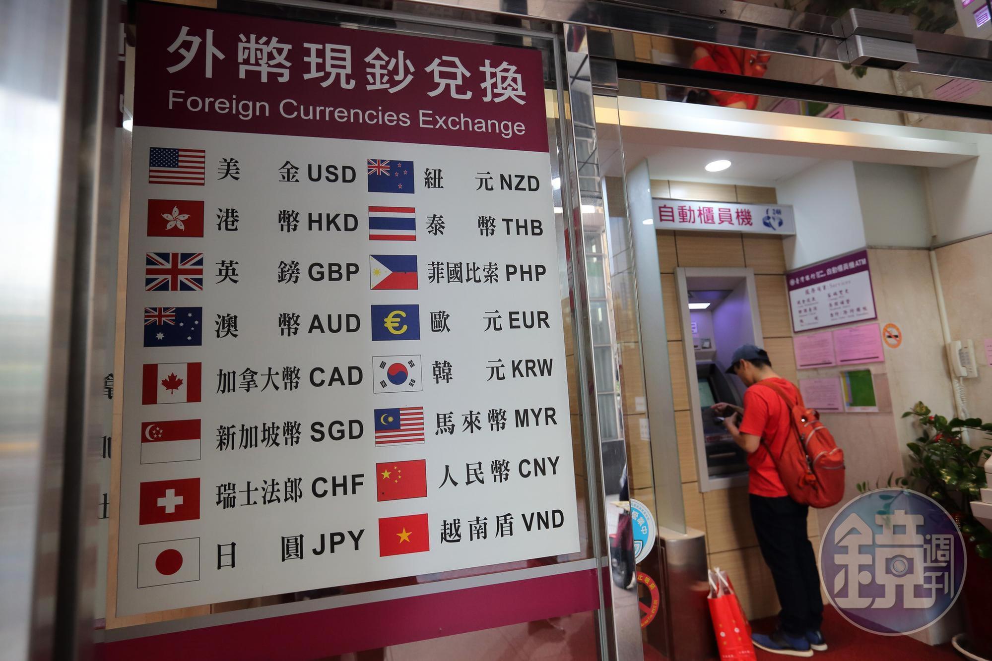 CFP國際認證高級理財規劃顧問吳家揚提醒,外幣投資,以美金為例,可設定在30~32元間賺價差。