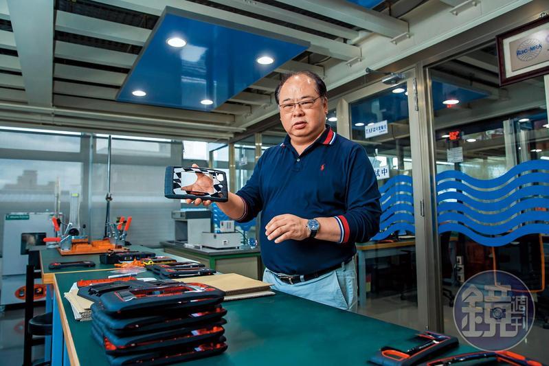 林健祥25年前放棄美國千萬年薪,接手家族塑膠射出工廠,靠一站式客製化服務讓宗瑋工業轉虧為盈,拚到年收7億元。