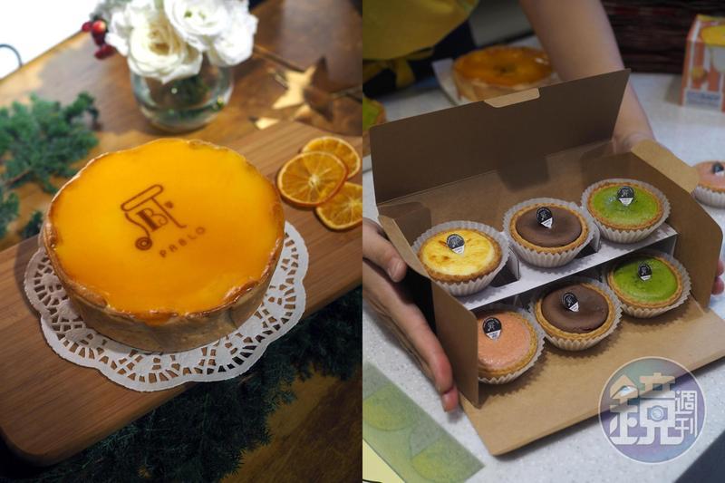 一度退出台灣的排隊甜點品牌「PABLO」回來啦!這回還祭出首次登台的迷你塔,搶攻外帶人氣。