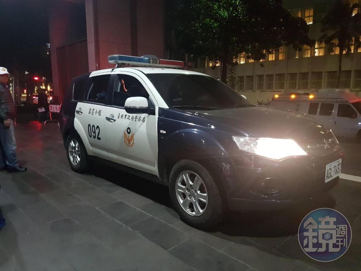 警方憂心事態嚴重,派霹靂小組前來支援,所幸無人受傷。(警方提供)