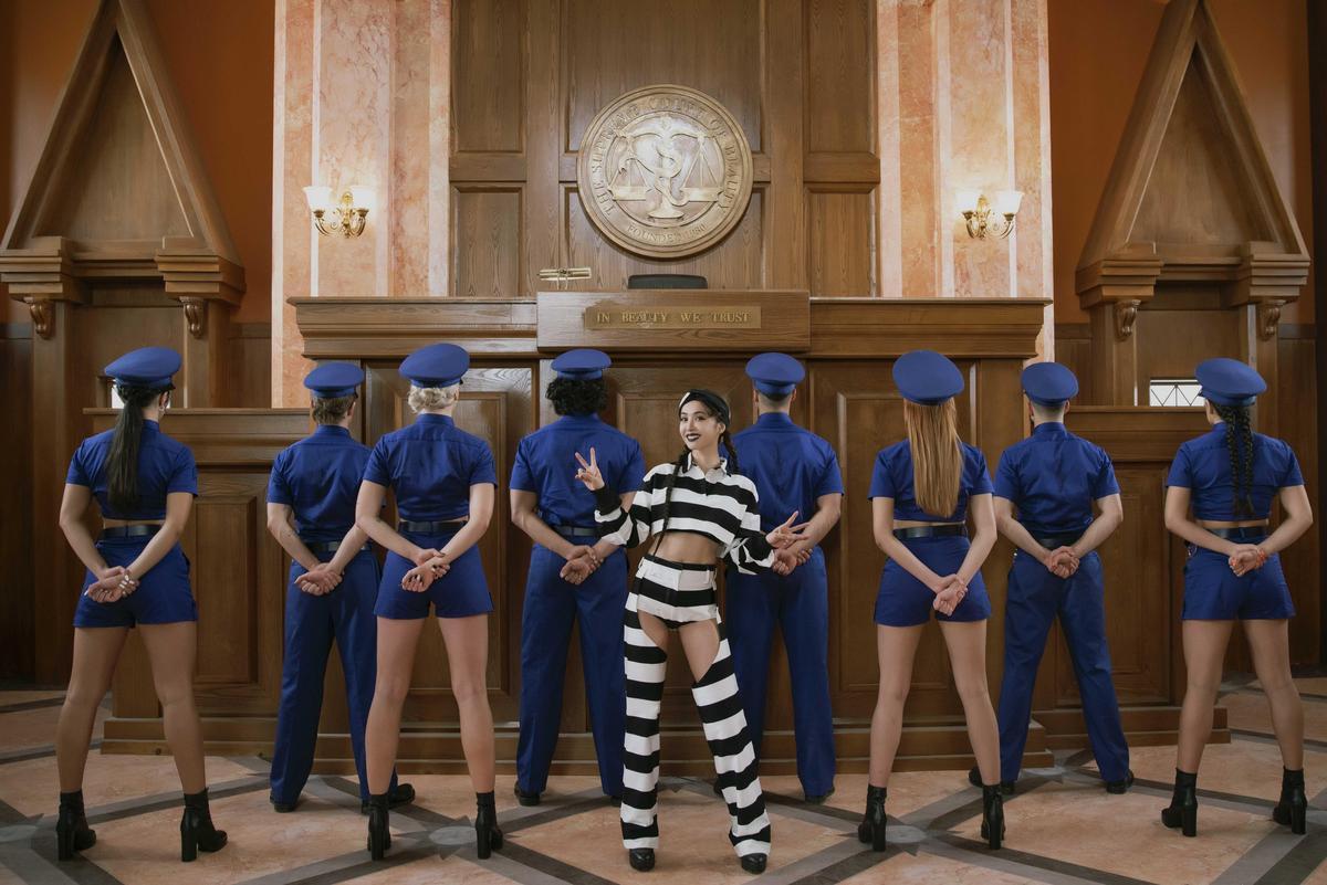 MV為蔡依林打造8種角色,不只「怪美舞」,還預告有不少彩蛋製造驚喜。(凌時差提供)