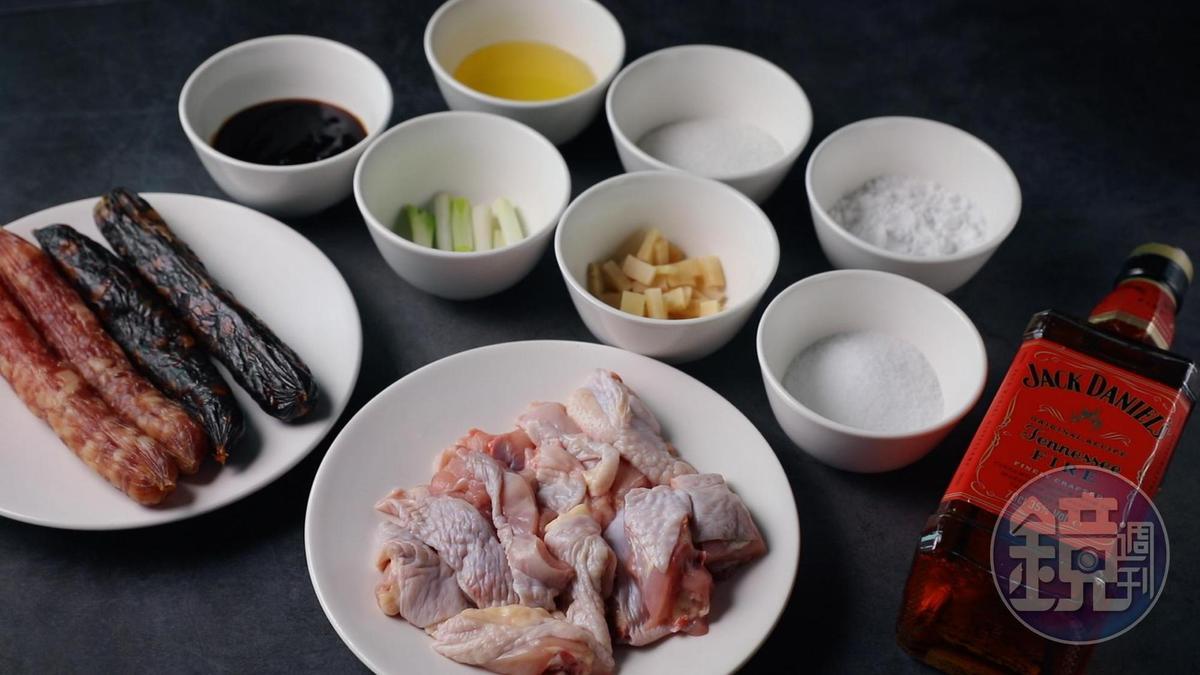 可選帶骨雞肉塊,料理效果更好。