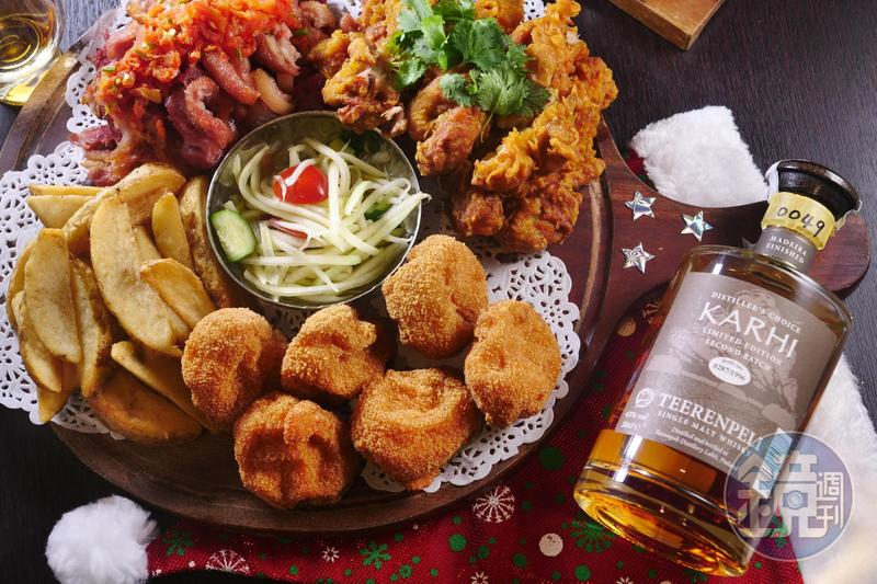 年末聚餐,好菜配上好酒,能讓聚會歡欣氣氛更濃厚。