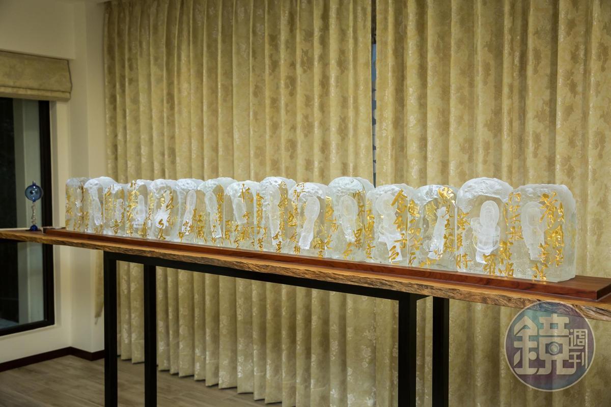 林健祥蒐藏琉璃的標準純粹只看美醜,增值空間從不在考慮範圍內。